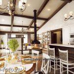 Фото Интерьер кухни в частном доме 06.02.2019 №044 - Kitchen interior - design-foto.ru