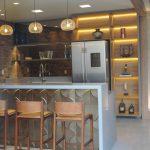 Фото Интерьер кухни в частном доме 06.02.2019 №045 - Kitchen interior - design-foto.ru