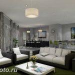 Фото Интерьер кухни в частном доме 06.02.2019 №064 - Kitchen interior - design-foto.ru