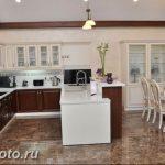 Фото Интерьер кухни в частном доме 06.02.2019 №095 - Kitchen interior - design-foto.ru