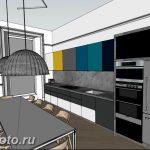 Фото Интерьер кухни в частном доме 06.02.2019 №124 - Kitchen interior - design-foto.ru
