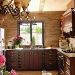 Фото Интерьер кухни в частном доме 06.02.2019 №140 - Kitchen interior - design-foto.ru