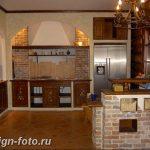 Фото Интерьер кухни в частном доме 06.02.2019 №153 - Kitchen interior - design-foto.ru