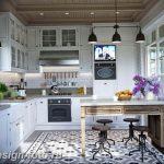 Фото Интерьер кухни в частном доме 06.02.2019 №157 - Kitchen interior - design-foto.ru