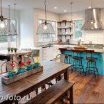 Фото Интерьер кухни в частном доме 06.02.2019 №159 - Kitchen interior - design-foto.ru