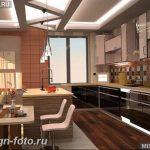 Фото Интерьер кухни в частном доме 06.02.2019 №175 - Kitchen interior - design-foto.ru