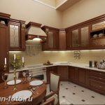 Фото Интерьер кухни в частном доме 06.02.2019 №196 - Kitchen interior - design-foto.ru
