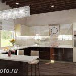 Фото Интерьер кухни в частном доме 06.02.2019 №216 - Kitchen interior - design-foto.ru