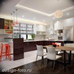 Фото Интерьер кухни в частном доме 06.02.2019 №219 - Kitchen interior - design-foto.ru