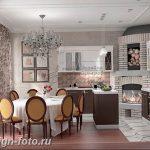Фото Интерьер кухни в частном доме 06.02.2019 №223 - Kitchen interior - design-foto.ru