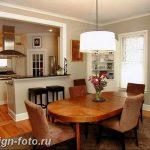 Фото Интерьер кухни в частном доме 06.02.2019 №235 - Kitchen interior - design-foto.ru
