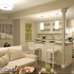 Фото Интерьер кухни в частном доме 06.02.2019 №255 - Kitchen interior - design-foto.ru