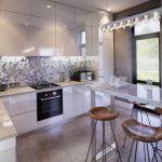 Фото Интерьер кухни в частном доме 06.02.2019 №274 - Kitchen interior - design-foto.ru