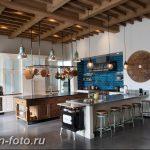 Фото Интерьер кухни в частном доме 06.02.2019 №277 - Kitchen interior - design-foto.ru