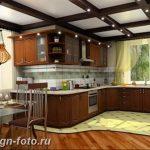 Фото Интерьер кухни в частном доме 06.02.2019 №284 - Kitchen interior - design-foto.ru