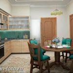Фото Интерьер кухни в частном доме 06.02.2019 №290 - Kitchen interior - design-foto.ru
