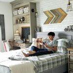 Фото Интерьер подростковой комнаты 26.06.2019 №247 - Interior teen room - design-foto.ru
