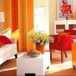 Фото Оранжевый цвет в интерь 20.06.2019 №003 - Orange color in the interio - design-foto.ru