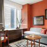 Фото Оранжевый цвет в интерь 20.06.2019 №007 - Orange color in the interio - design-foto.ru