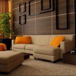 Фото Оранжевый цвет в интерь 20.06.2019 №012 - Orange color in the interio - design-foto.ru