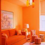 Фото Оранжевый цвет в интерь 20.06.2019 №013 - Orange color in the interio - design-foto.ru