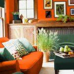 Фото Оранжевый цвет в интерь 20.06.2019 №014 - Orange color in the interio - design-foto.ru