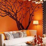 Фото Оранжевый цвет в интерь 20.06.2019 №015 - Orange color in the interio - design-foto.ru