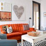 Фото Оранжевый цвет в интерь 20.06.2019 №016 - Orange color in the interio - design-foto.ru