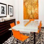 Фото Оранжевый цвет в интерь 20.06.2019 №017 - Orange color in the interio - design-foto.ru