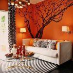 Фото Оранжевый цвет в интерь 20.06.2019 №019 - Orange color in the interio - design-foto.ru