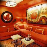 Фото Оранжевый цвет в интерь 20.06.2019 №020 - Orange color in the interio - design-foto.ru