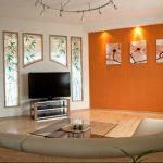 Фото Оранжевый цвет в интерь 20.06.2019 №027 - Orange color in the interio - design-foto.ru
