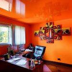 Фото Оранжевый цвет в интерь 20.06.2019 №028 - Orange color in the interio - design-foto.ru