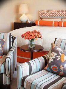 Фото Оранжевый цвет в интерь 20.06.2019 №033 - Orange color in the interio - design-foto.ru