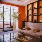 Фото Оранжевый цвет в интерь 20.06.2019 №036 - Orange color in the interio - design-foto.ru