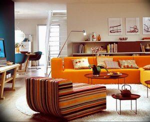 Фото Оранжевый цвет в интерь 20.06.2019 №037 - Orange color in the interio - design-foto.ru