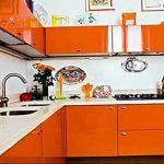 Фото Оранжевый цвет в интерь 20.06.2019 №042 - Orange color in the interio - design-foto.ru