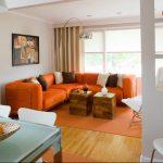 Фото Оранжевый цвет в интерь 20.06.2019 №044 - Orange color in the interio - design-foto.ru