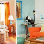 Фото Оранжевый цвет в интерь 20.06.2019 №047 - Orange color in the interio - design-foto.ru