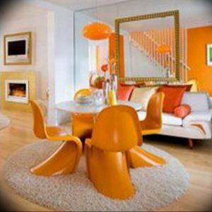 Фото Оранжевый цвет в интерь 20.06.2019 №048 - Orange color in the interio - design-foto.ru