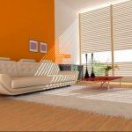 Фото Оранжевый цвет в интерь 20.06.2019 №049 - Orange color in the interio - design-foto.ru