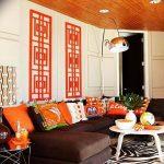 Фото Оранжевый цвет в интерь 20.06.2019 №050 - Orange color in the interio - design-foto.ru