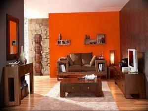 Фото Оранжевый цвет в интерь 20.06.2019 №054 - Orange color in the interio - design-foto.ru