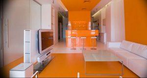 Фото Оранжевый цвет в интерь 20.06.2019 №056 - Orange color in the interio - design-foto.ru