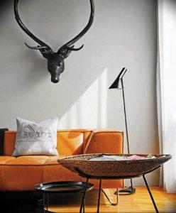 Фото Оранжевый цвет в интерь 20.06.2019 №059 - Orange color in the interio - design-foto.ru