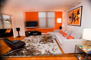 Фото Оранжевый цвет в интерь 20.06.2019 №062 - Orange color in the interio - design-foto.ru