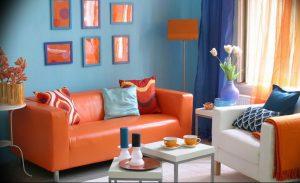Фото Оранжевый цвет в интерь 20.06.2019 №066 - Orange color in the interio - design-foto.ru