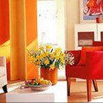Фото Оранжевый цвет в интерь 20.06.2019 №067 - Orange color in the interio - design-foto.ru