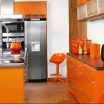 Фото Оранжевый цвет в интерь 20.06.2019 №069 - Orange color in the interio - design-foto.ru