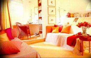 Фото Оранжевый цвет в интерь 20.06.2019 №077 - Orange color in the interio - design-foto.ru